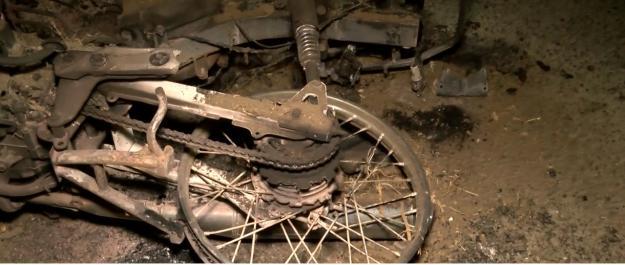 Dos motos de presuntos delincuentes fueron incineradas en Pasto