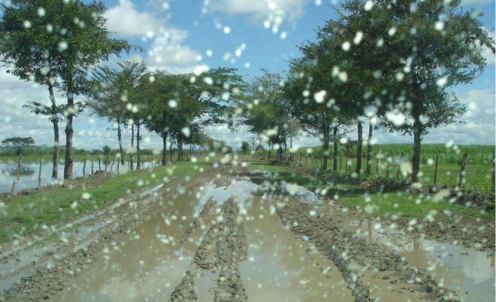 En un 14 por ciento aumentarán las lluvias intensas en el Valle