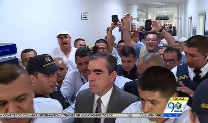 Gobierno del Valle rechazó las vías de hecho contra directivos del HUV