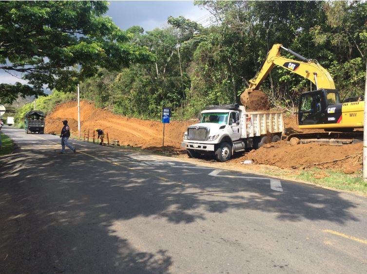 Empiezan los trabajos de ampliación en la vía a Pance
