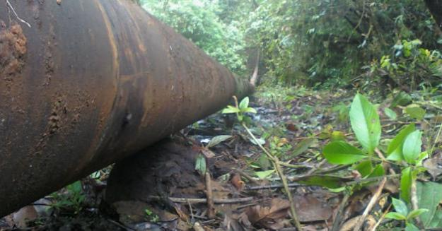 Nuevo atentado contra oleoducto Trasandino en Mallama, Nariño