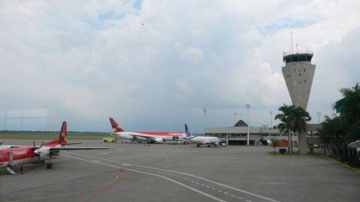 Registran nuevo desvío de un vuelo hacia el aeropuerto Bonilla Aragón