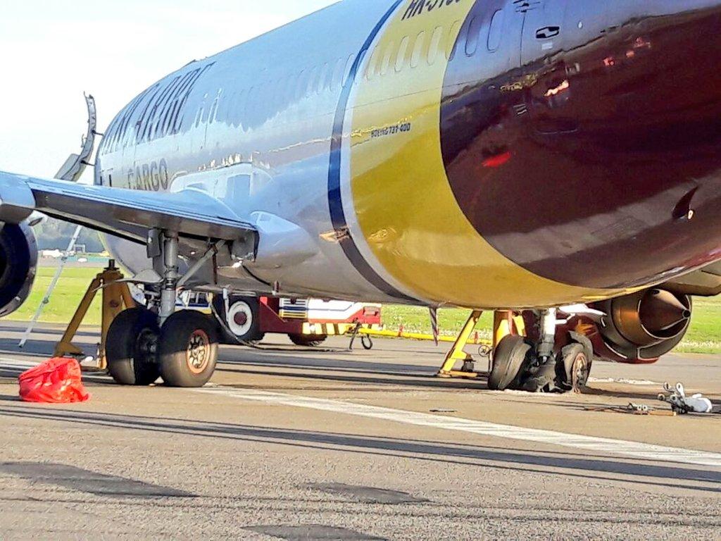 Pista de aeropuerto El Dorado estuvo cerrada por incidente con avión