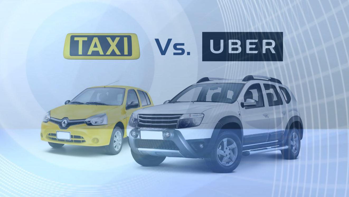 Acusan a taxista de dañar un carro tras confundirlo con Uber