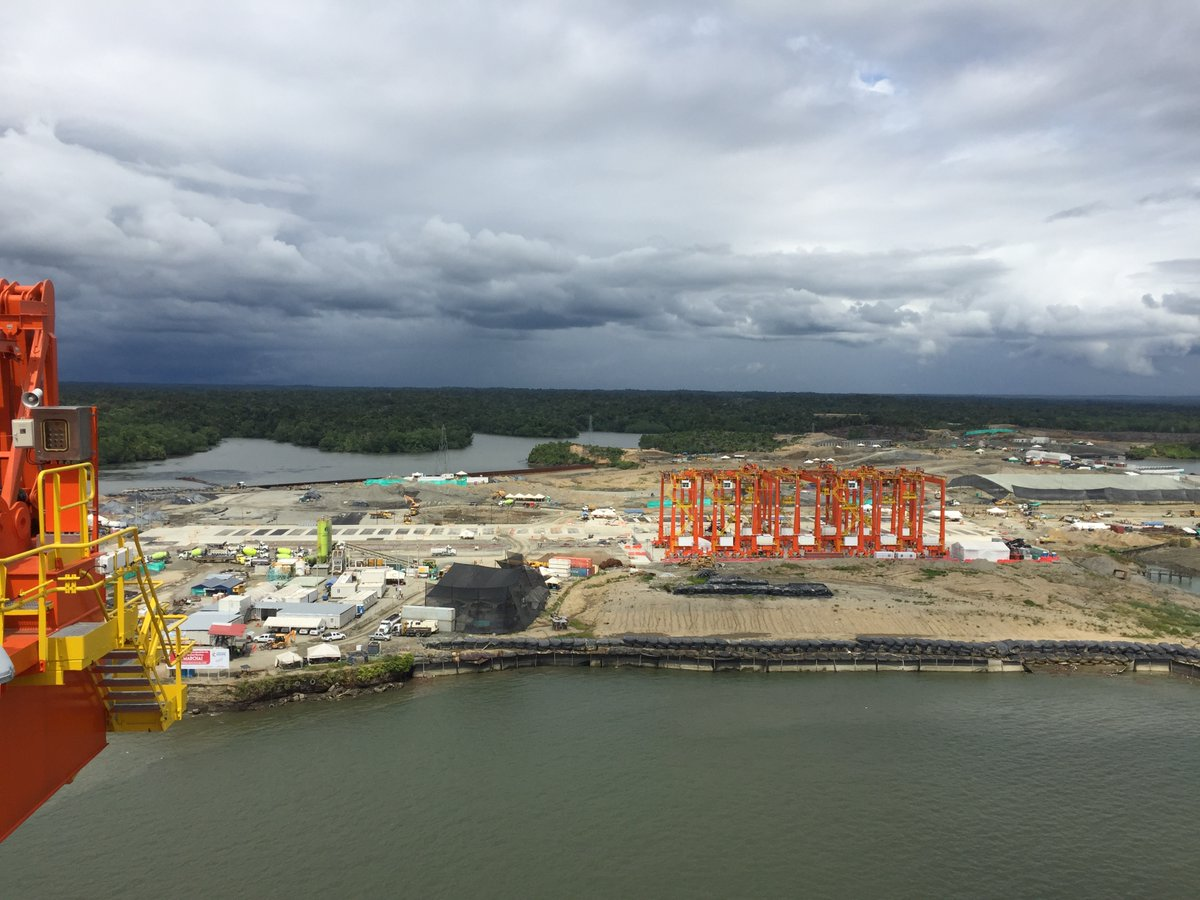Comenzó a funcionar el nuevo puerto en Buenaventura