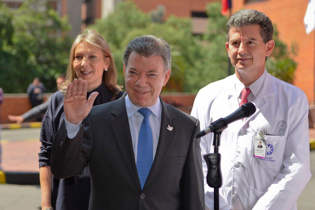 Santos confirma que no tiene tumor o metástasis y puede seguir sus funciones