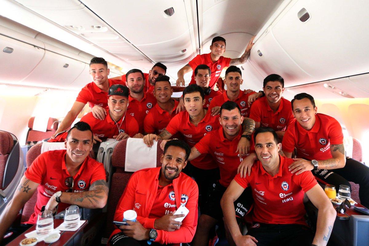 Sin Alexis Sánchez, Chile llega a Barranquilla para partido contra Colombia