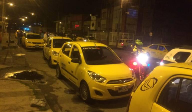 Taxista es atacado con sustancia química en intento de robo en Cali