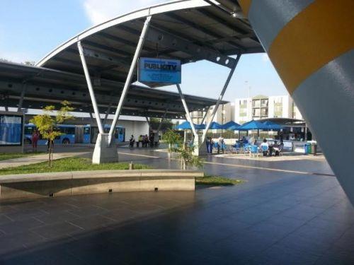 Usuarios están preocupados por mal estado de la estación Terminal Menga