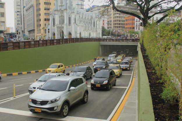 Túnel de la Avenida Colombia cerrado en horario especial