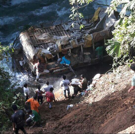 Accidente en la vía al Tambo cobró la vida de dos personas