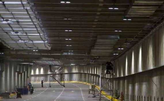 Aumenta una hora más cierre del túnel de la Avenida Colombia