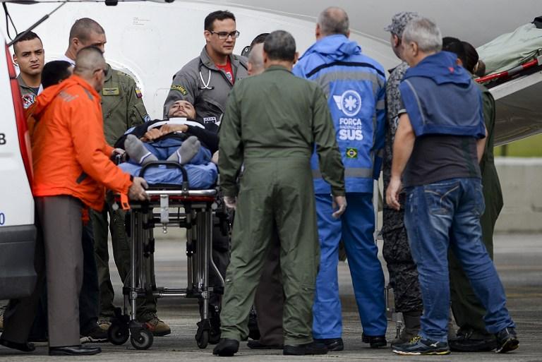Arquero del Chapecoense que sobrevivió a la tragedia llegó a Sao Paulo