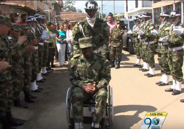 Ejército entrega vivienda en Jamundí a soldado víctima de mina antipersona