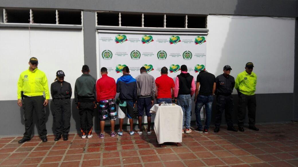 Capturados siete integrantes de la banda delincuencial 'El Rolo'