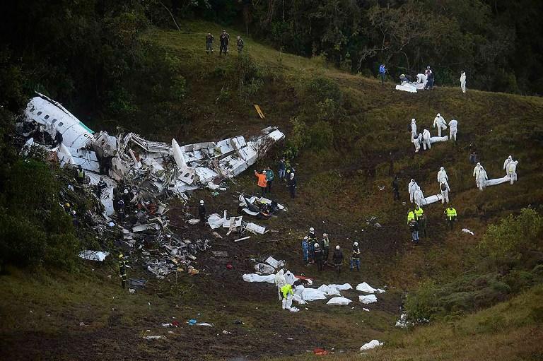 Cerro donde se estrelló avión de LaMia se llamará Chapecoense