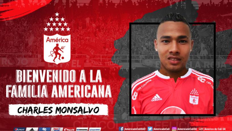 Charles Monsalvo es la nueva contratación de América de Cali