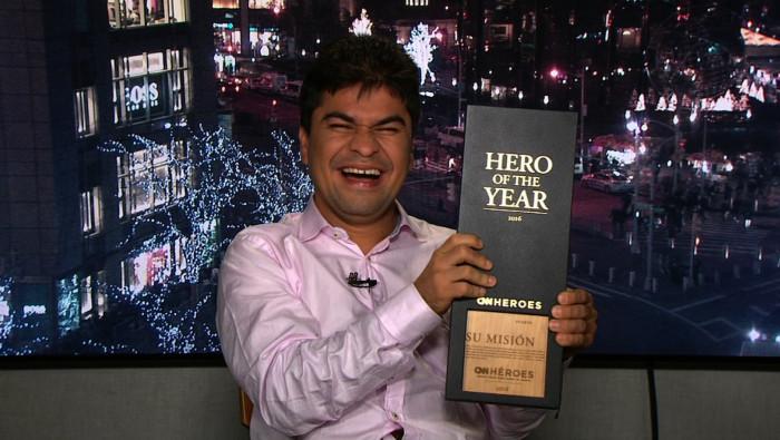 Con papayera será recibido el caleño, Jeison Aristizábal, héroe CNN