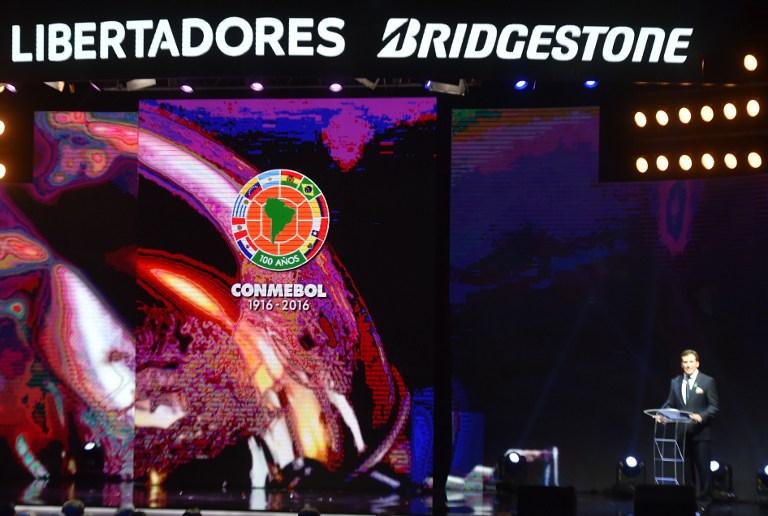 Conmebol realizó el sorteo de la Copa libertadores del 2017
