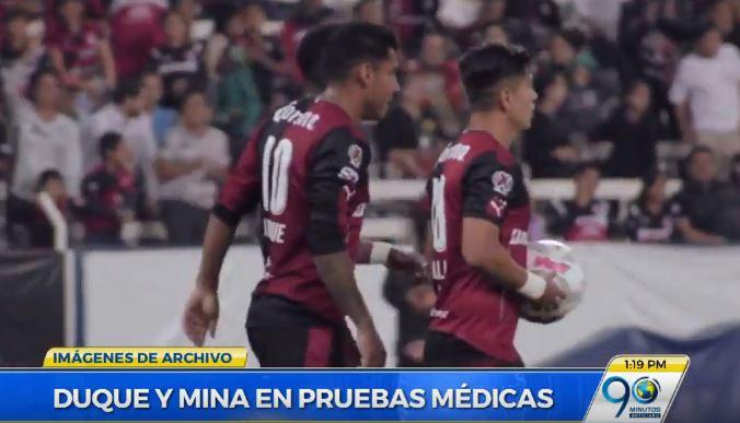 Jefferson Duque y Pablo Mina, reforzarían al Deportivo Cali en el 2017