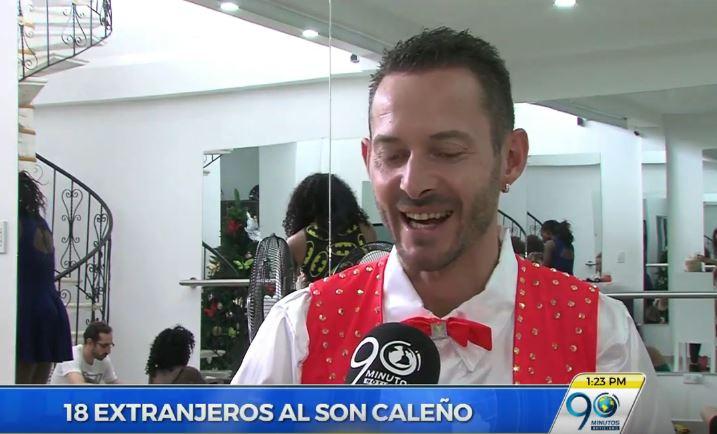 Nueve parejas extranjeras deleitaron con su baile a los asistentes del Salsódromo