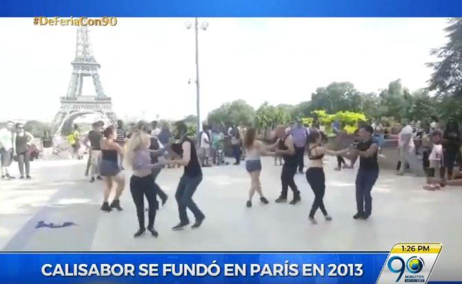 Caleña crea escuela de salsa en Francia y trajo a sus bailarines a Cali