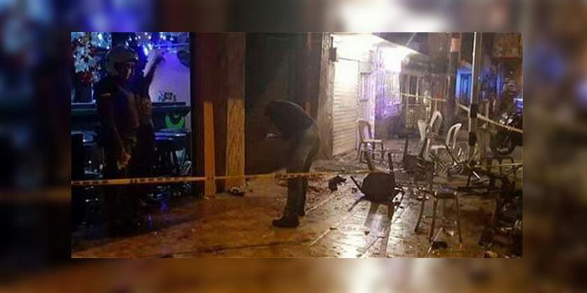 Dos personas muertas tras explosión de granada en Tumaco