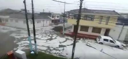 Habitantes de Popayán vivieron emergencia tras granizada