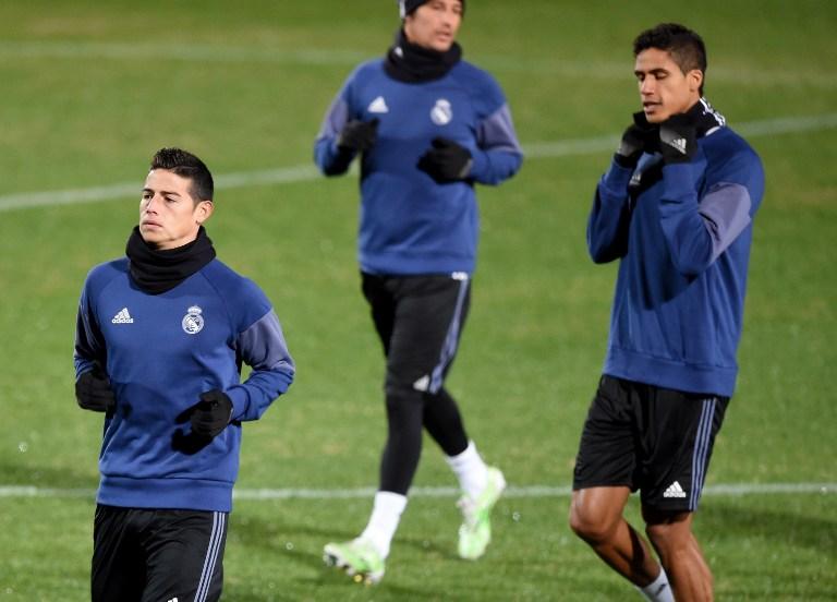 James pone en duda su continuidad en el Real Madrid