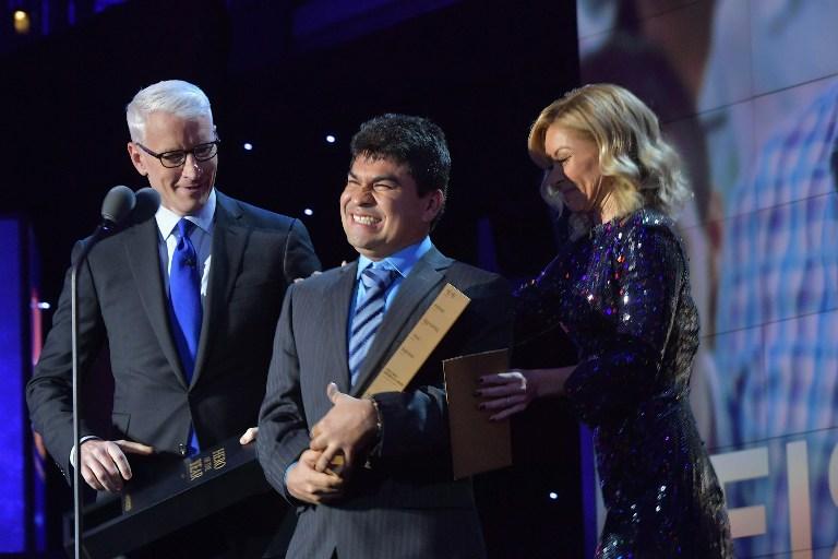 Jeison Aristizábal elegido como el Héroe CNN 2016