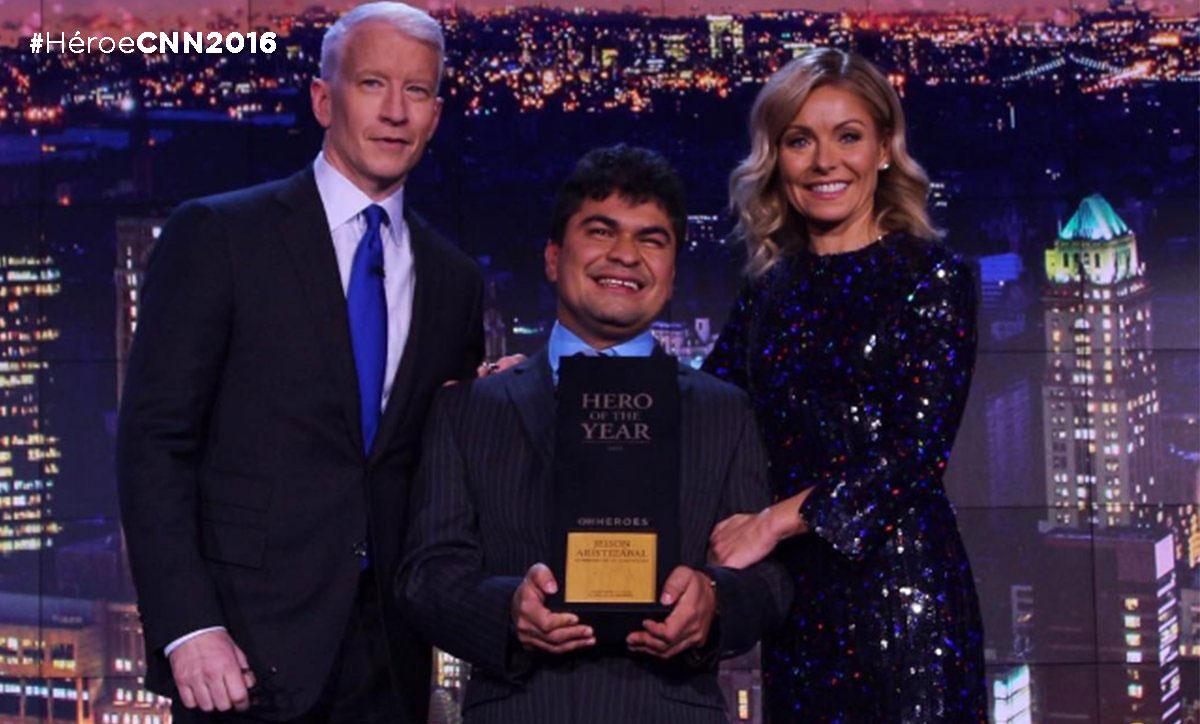 Mensajes de felicitación para Jeison Arístizabal, Héroe CNN