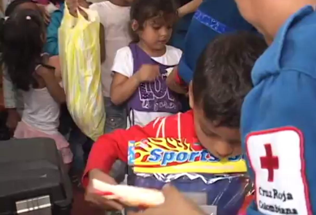 Conozca dónde puede donar regalos para quienes han sufrido la guerra