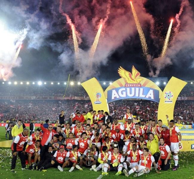 Santa Fe derrota 1-0 a Tolima y es campeón del fútbol colombiano