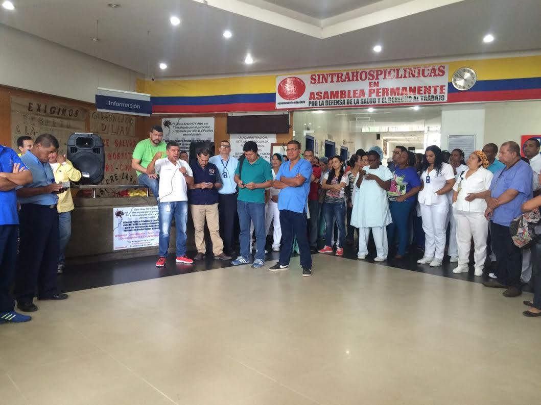 177 trabajadores del HUV serán integrados a sus cargos