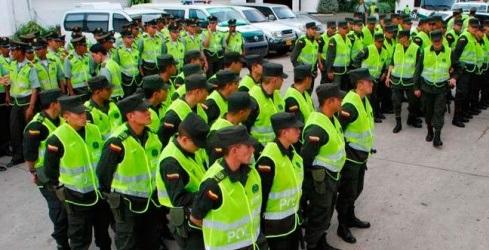 Cinco mil policías apoyarán temporada decembrina en el Valle