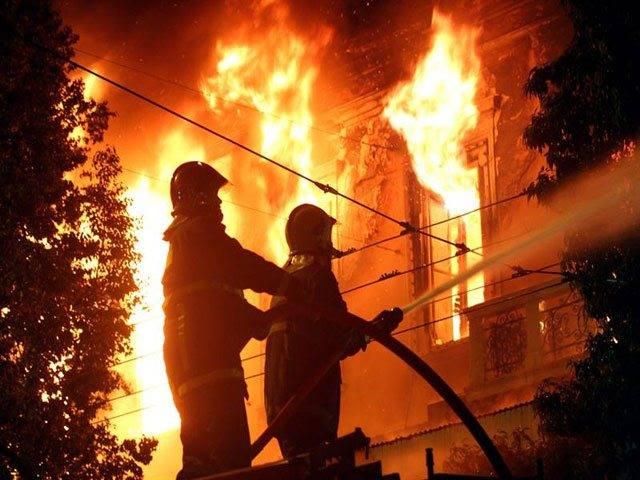Bomberos de Cali atendieron incendio de una vivienda