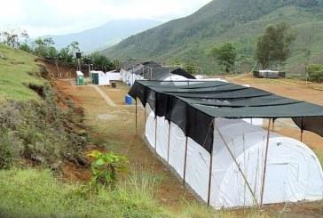 Adecuación de  campamentos marcha a buen ritmo: Sergio Jaramillo