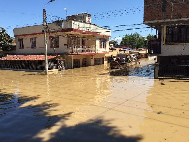Autoridades declaran alerta máxima en cuatro sectores de Juanchito