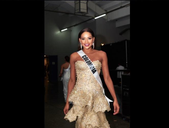 Andrea Tovar deslumbra en la preliminar de Miss Universo