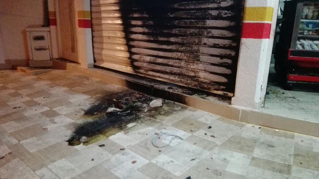 Artefacto explosivo fue lanzado a una panadería en el oriente de Cali