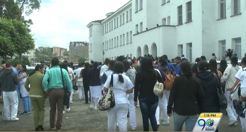 Asamblea permanente por despidos en Hospital San José en Popayán