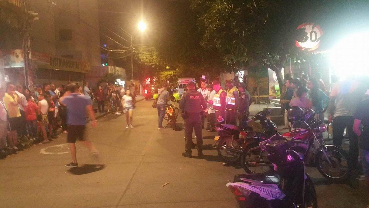 Dos muertos por ataque sicarial en Chiminangos, norte de Cali