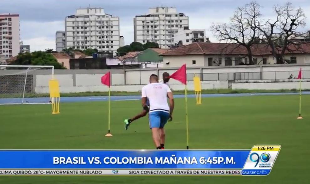Brasil y Colombia jugarán mañana partido de la amistad por Chepecoense