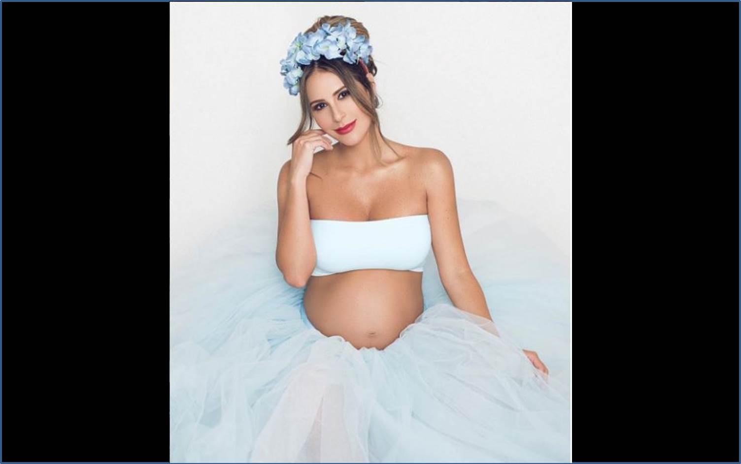 En pocos días nacerá el primer hijo de la caleña Carolina Soto