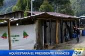 Vereda Los Robles se prepara para visita del presidente de Francia
