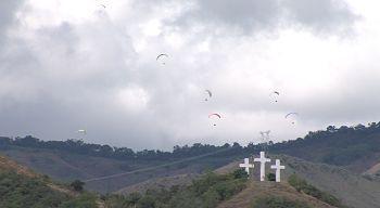 Circuito nacional de parapente se tomó los cielos de Roldanillo
