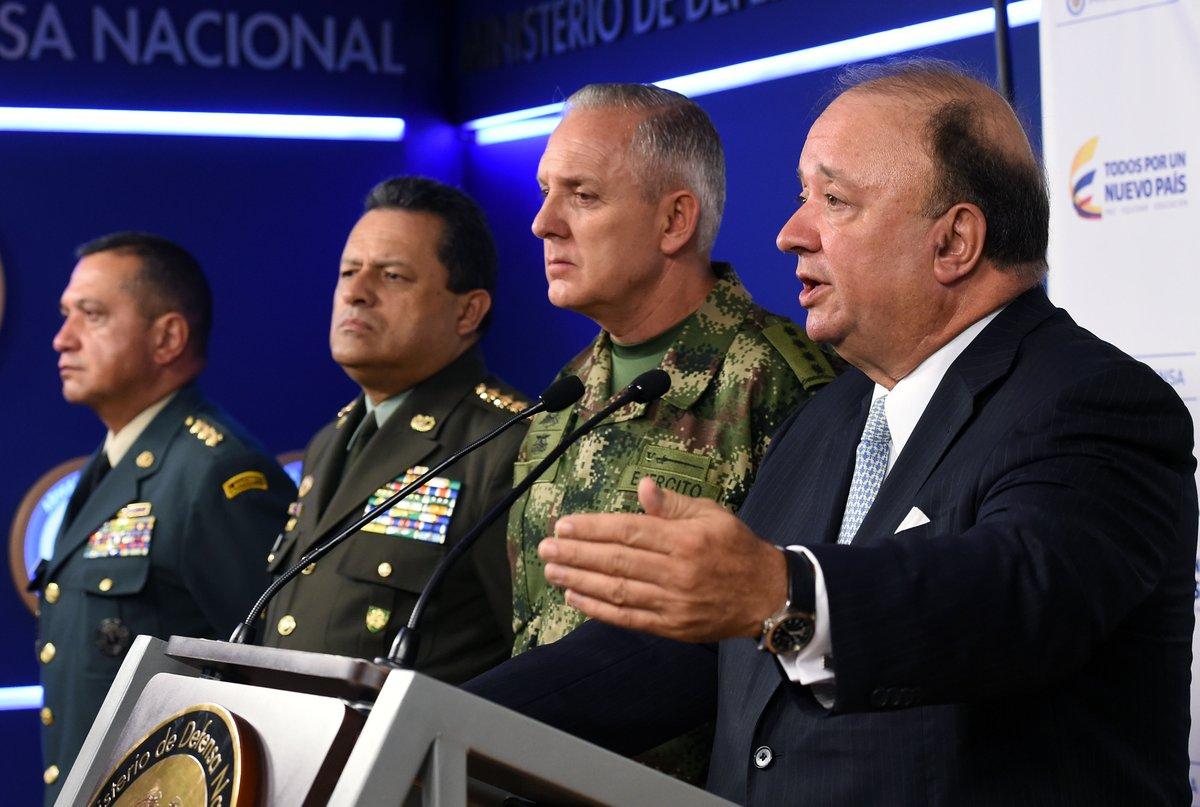 """""""En Colombia no hay paramilitarismo"""": Ministro de Defensa"""