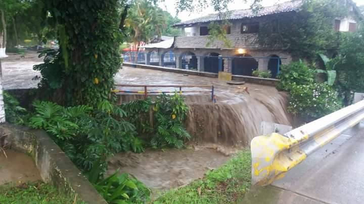 Se desbordó río en el municipio de Miranda, Cauca