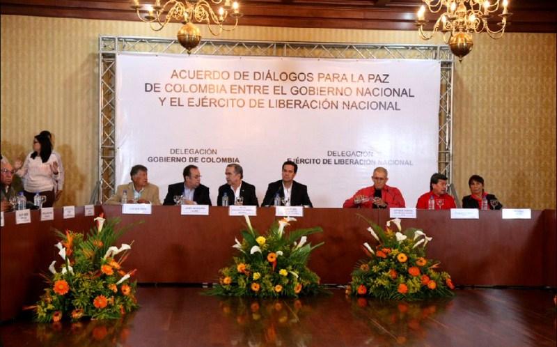 Conversaciones de paz con ELN inician el 12 de enero en Quito