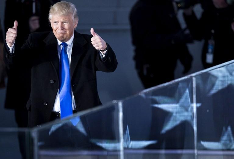 Trump se convierte en el 45° presidente de Estados Unidos